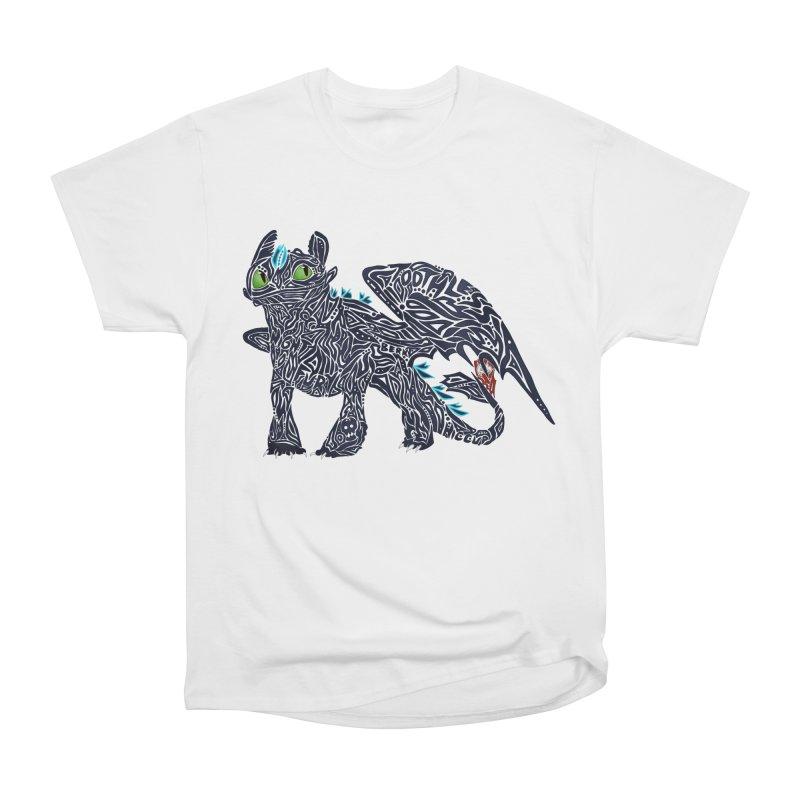 TOOTHLESS Women's Heavyweight Unisex T-Shirt by greenlambart's Artist Shop