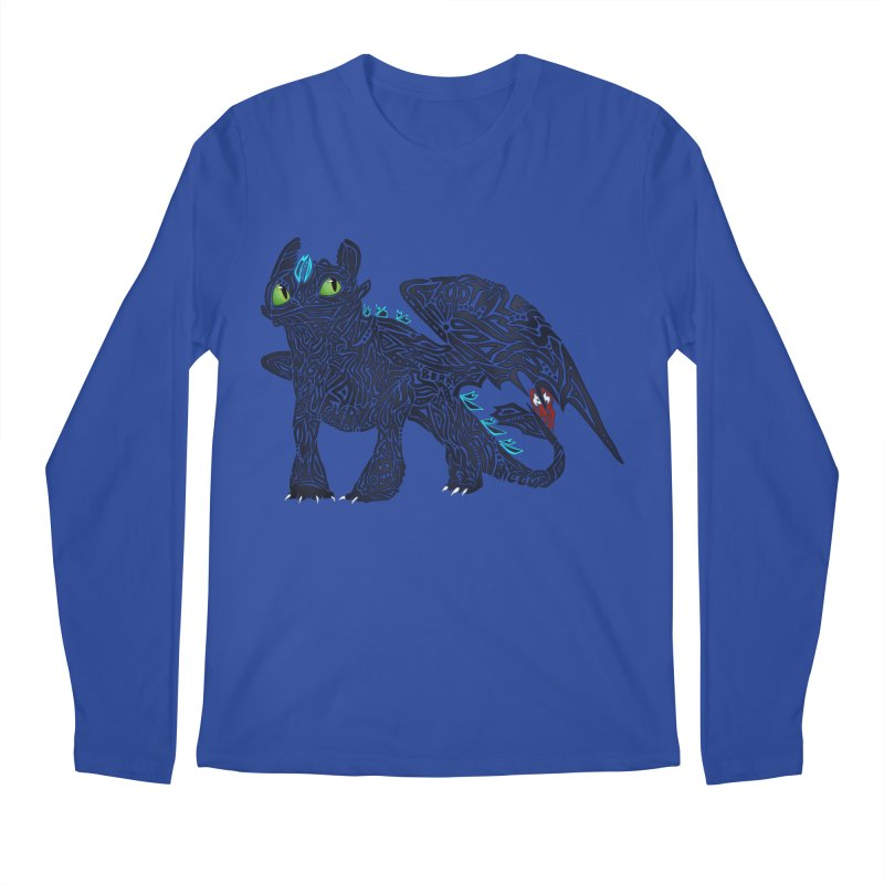 TOOTHLESS Men's Regular Longsleeve T-Shirt by greenlambart's Artist Shop