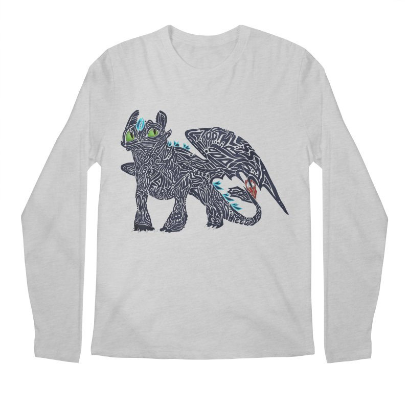 TOOTHLESS Men's Longsleeve T-Shirt by greenlambart's Artist Shop