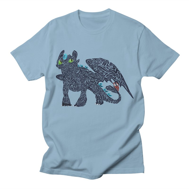 TOOTHLESS Men's Regular T-Shirt by greenlambart's Artist Shop