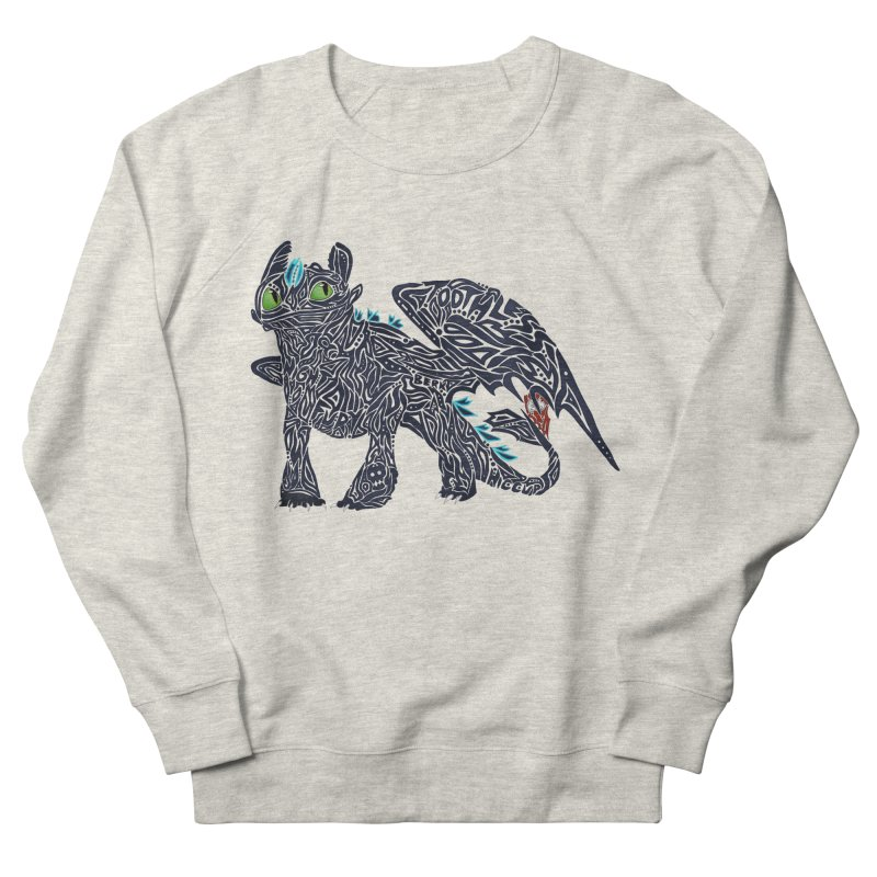 TOOTHLESS Women's French Terry Sweatshirt by greenlambart's Artist Shop