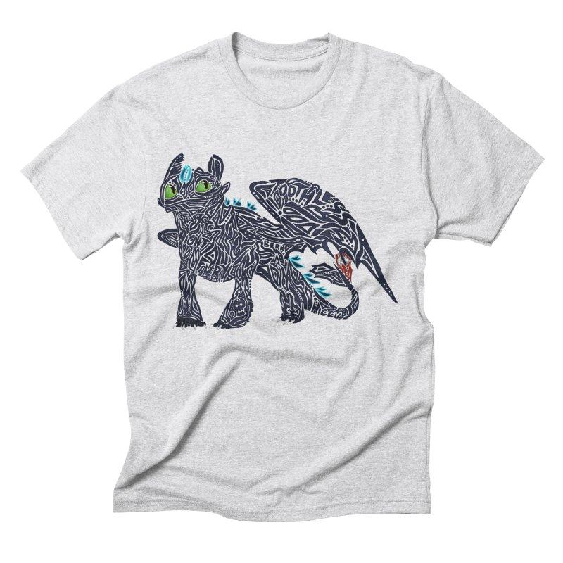 TOOTHLESS Men's Triblend T-Shirt by greenlambart's Artist Shop