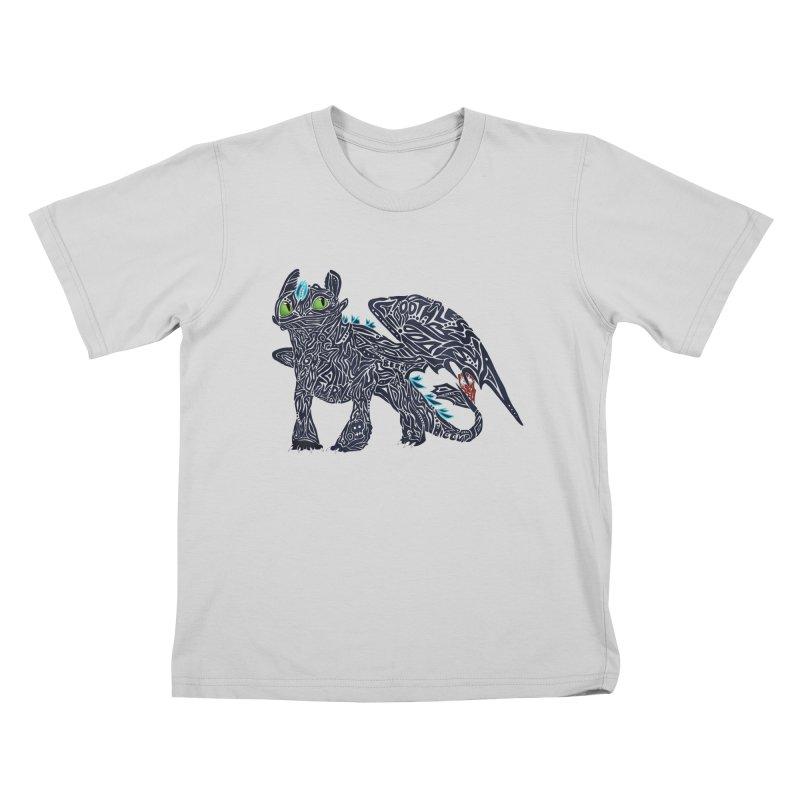 TOOTHLESS Kids T-Shirt by greenlambart's Artist Shop