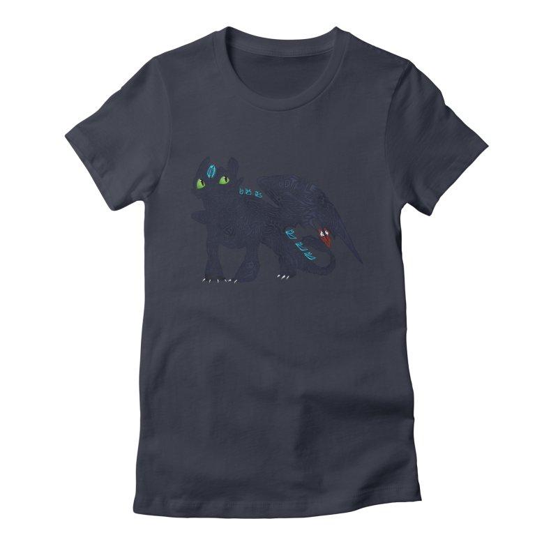 TOOTHLESS Women's T-Shirt by greenlambart's Artist Shop