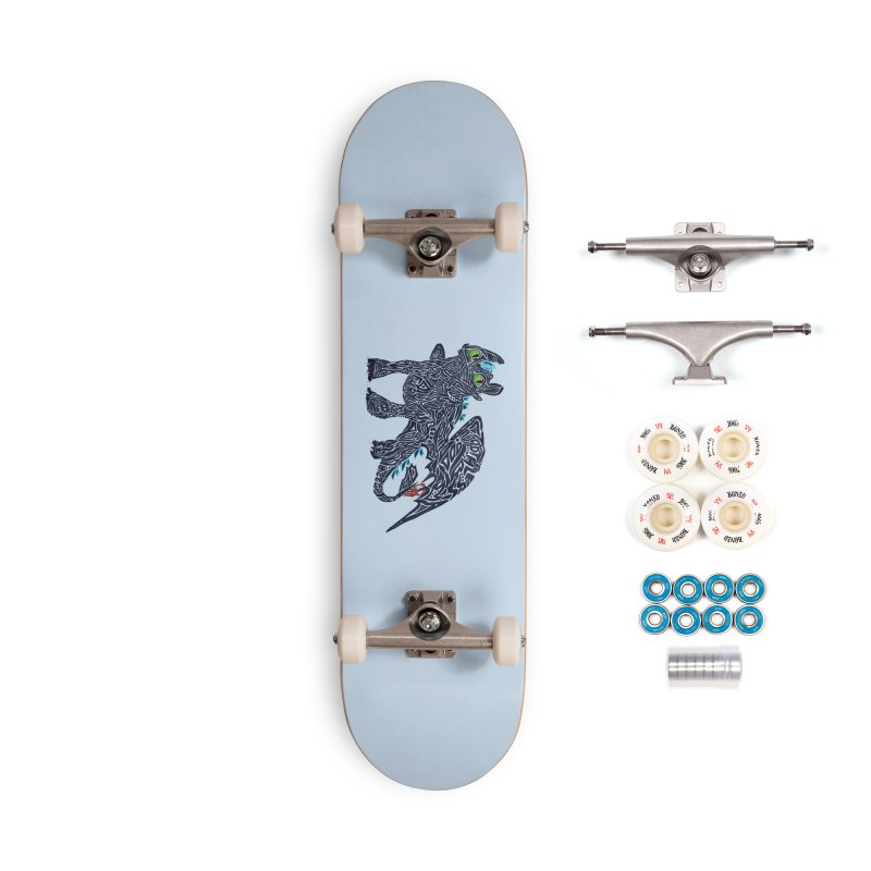 TOOTHLESS Accessories Skateboard by greenlambart's Artist Shop