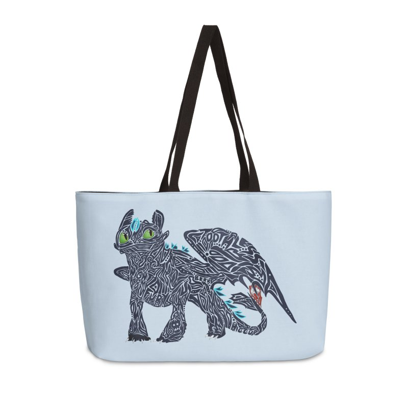 TOOTHLESS Accessories Weekender Bag Bag by greenlambart's Artist Shop