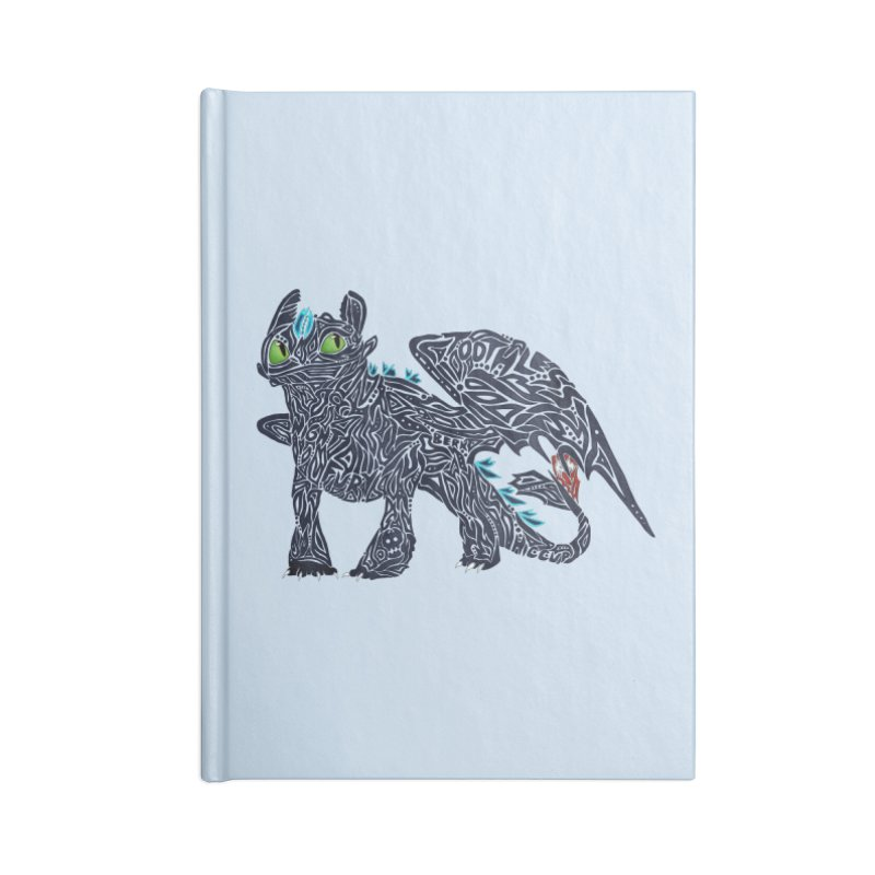 TOOTHLESS Accessories Notebook by greenlambart's Artist Shop