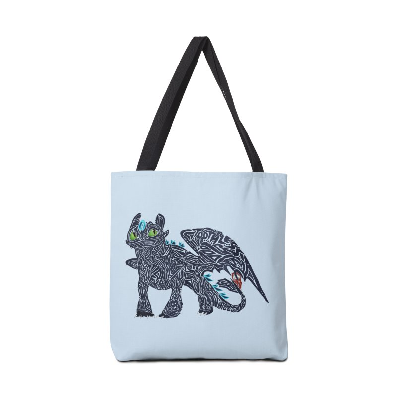 TOOTHLESS Accessories Bag by greenlambart's Artist Shop