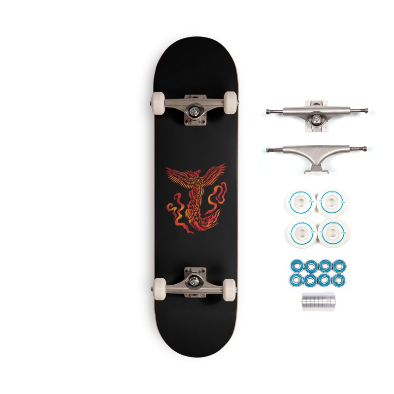 RISING Accessories Skateboard by greenlambart's Artist Shop