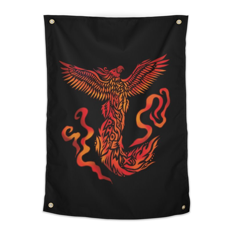 RISING Home Tapestry by greenlambart's Artist Shop