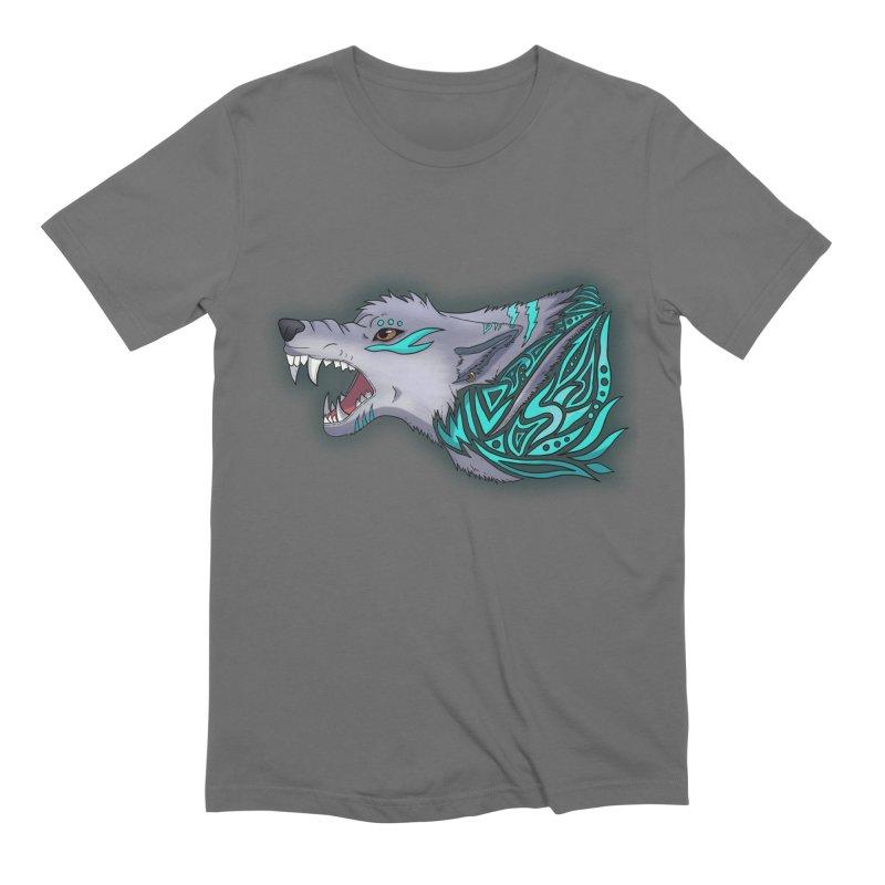 WILD Men's T-Shirt by greenlambart's Artist Shop