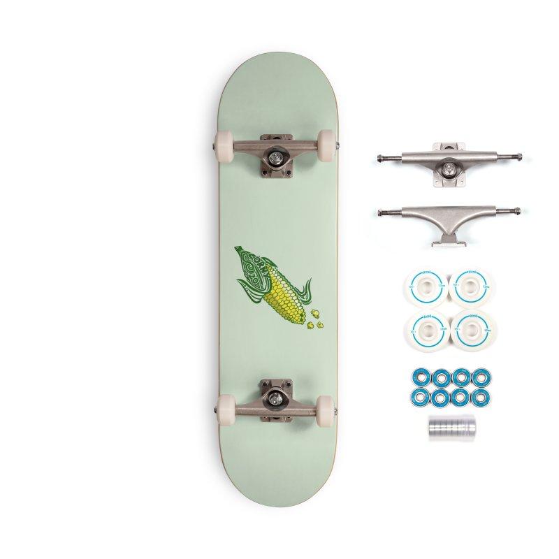CORNY Accessories Skateboard by greenlambart's Artist Shop