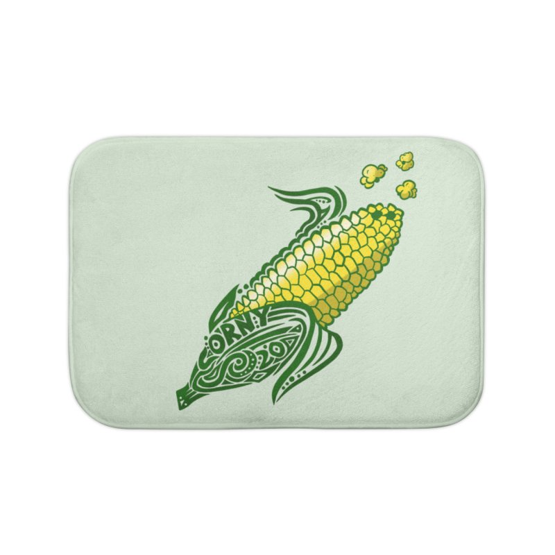 CORNY Home Bath Mat by greenlambart's Artist Shop