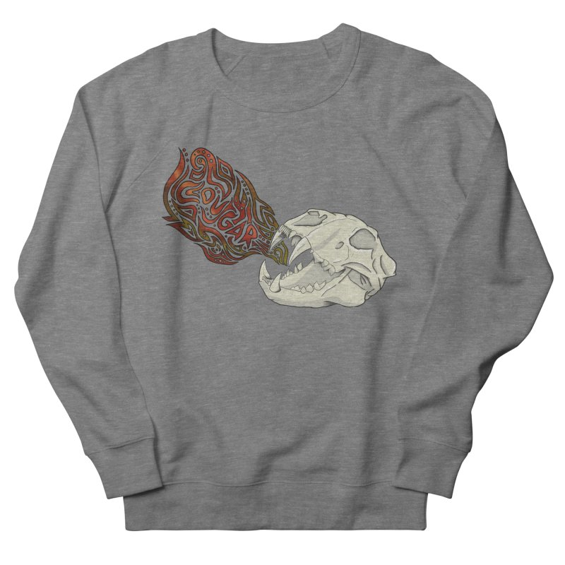 COUGAR Women's Sweatshirt by greenlambart's Artist Shop