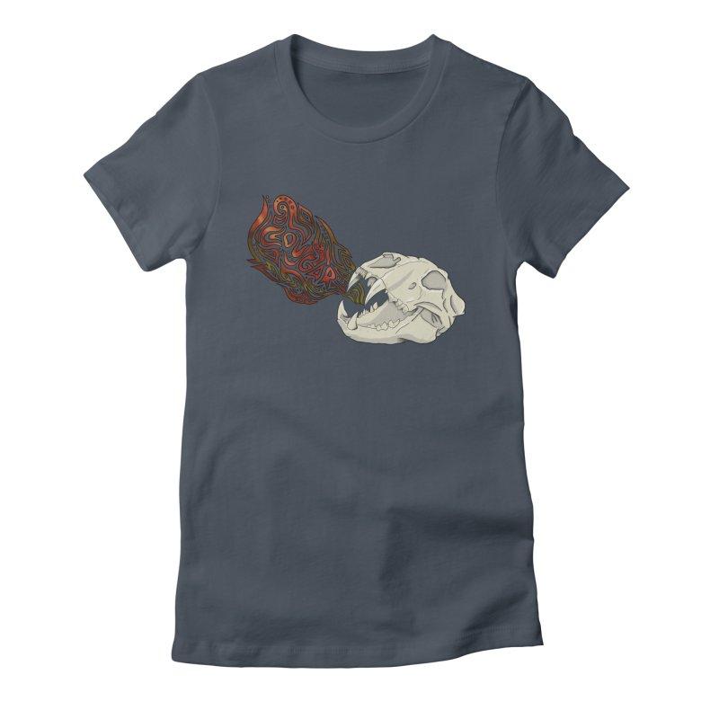 COUGAR Women's T-Shirt by greenlambart's Artist Shop