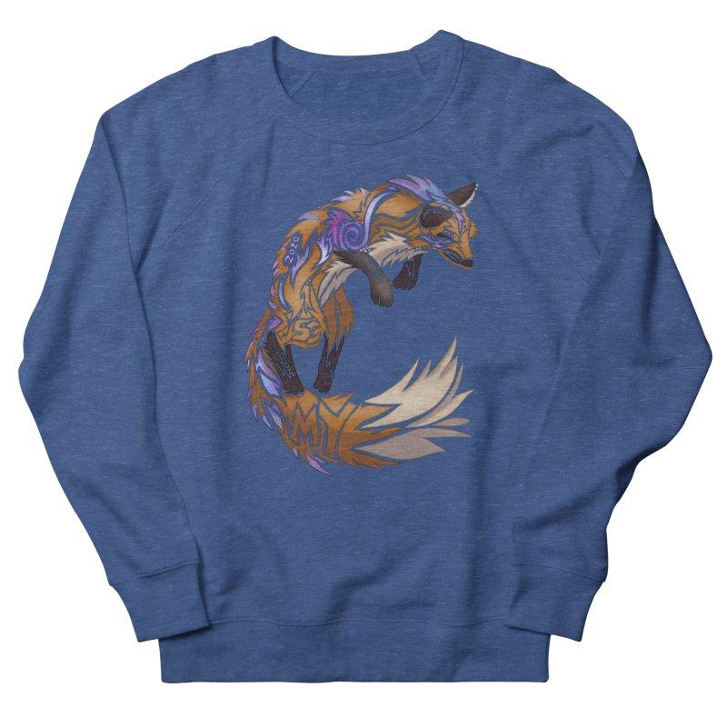 GALAXY FOX Men's Sweatshirt by greenlambart's Artist Shop