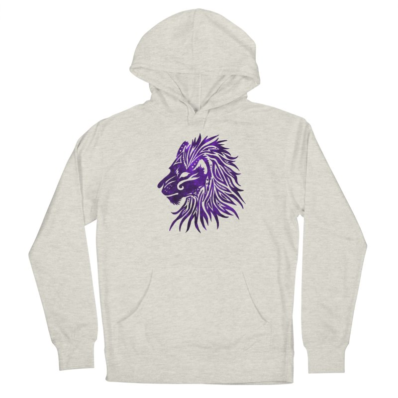 PURPLE KING Women's French Terry Pullover Hoody by greenlambart's Artist Shop