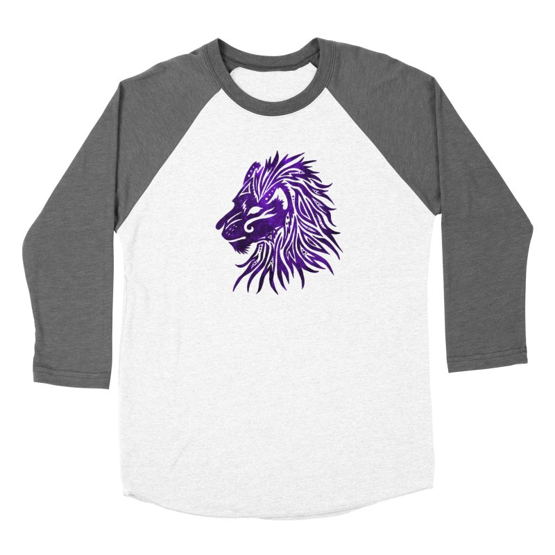 PURPLE KING Women's Baseball Triblend Longsleeve T-Shirt by greenlambart's Artist Shop