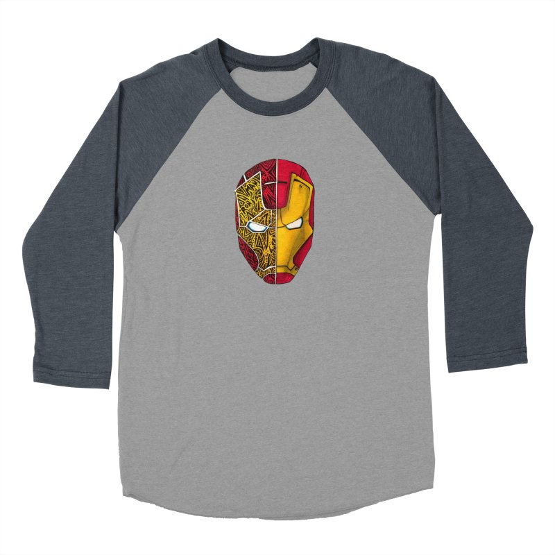 IRON MAN Women's Baseball Triblend Longsleeve T-Shirt by greenlambart's Artist Shop