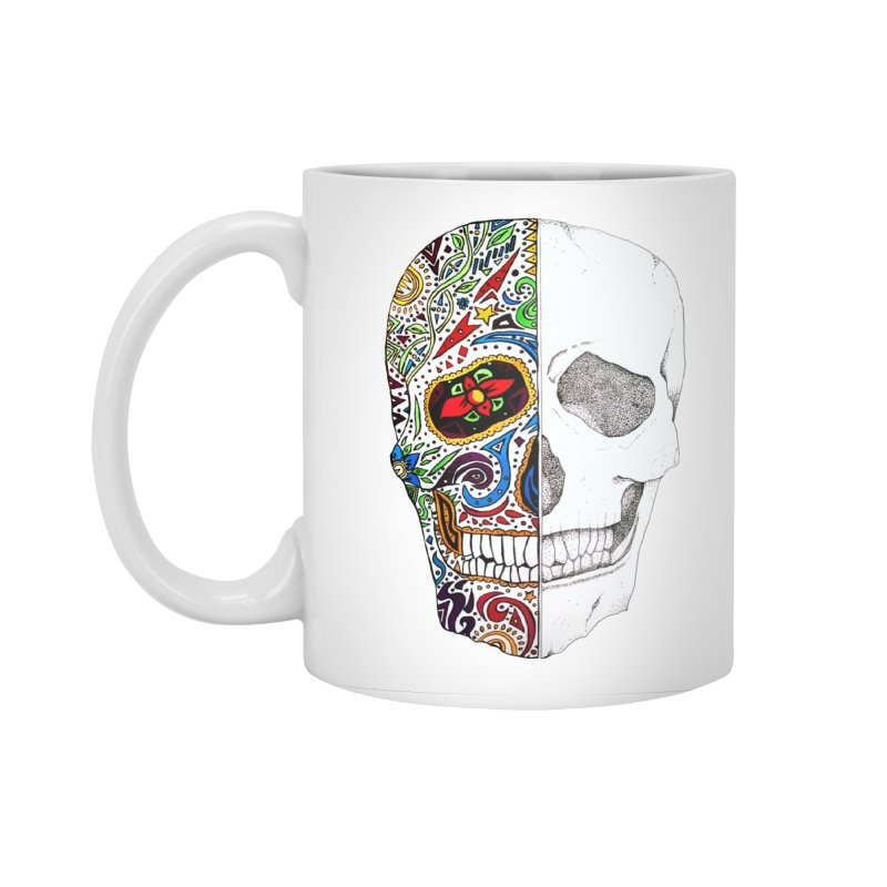 SUGAR SKULL Accessories Mug by greenlambart's Artist Shop