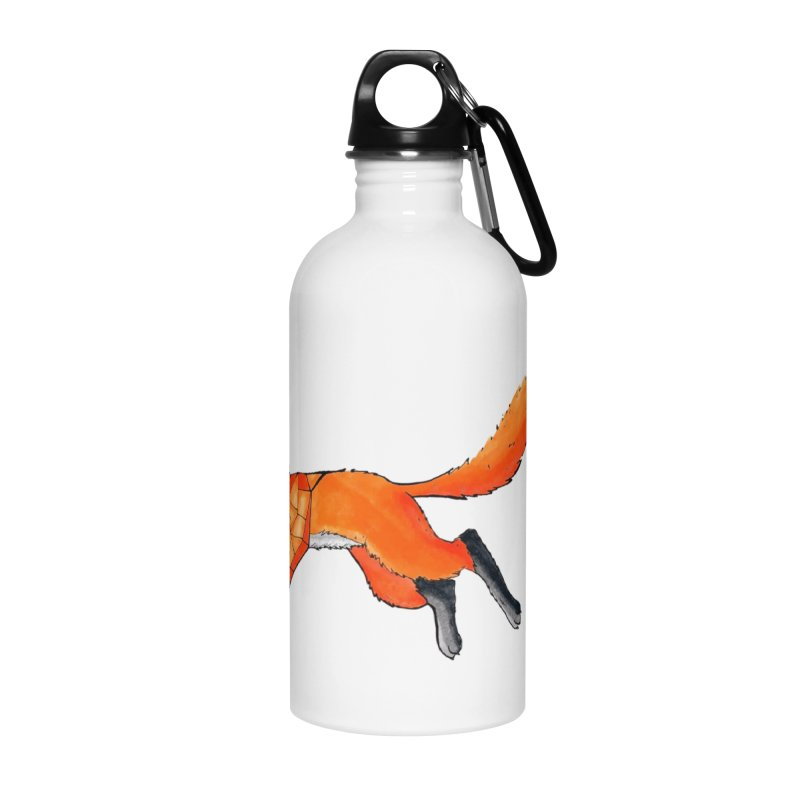GEO FOX Accessories Water Bottle by greenlambart's Artist Shop