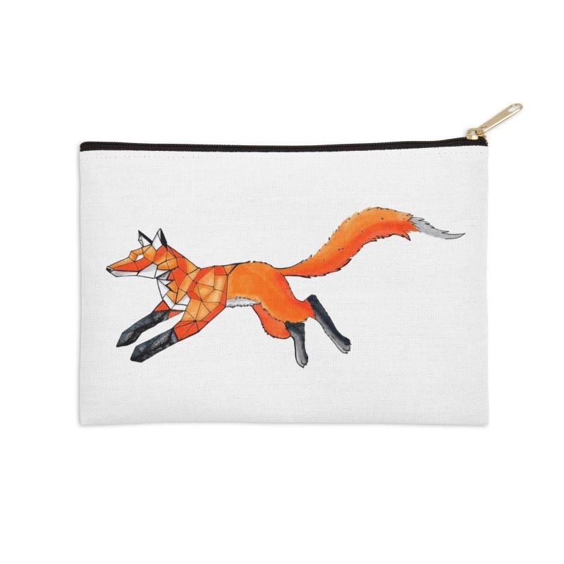 GEO FOX Accessories Zip Pouch by greenlambart's Artist Shop
