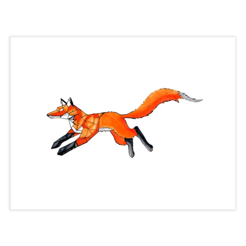 GEO FOX Home Fine Art Print by greenlambart's Artist Shop