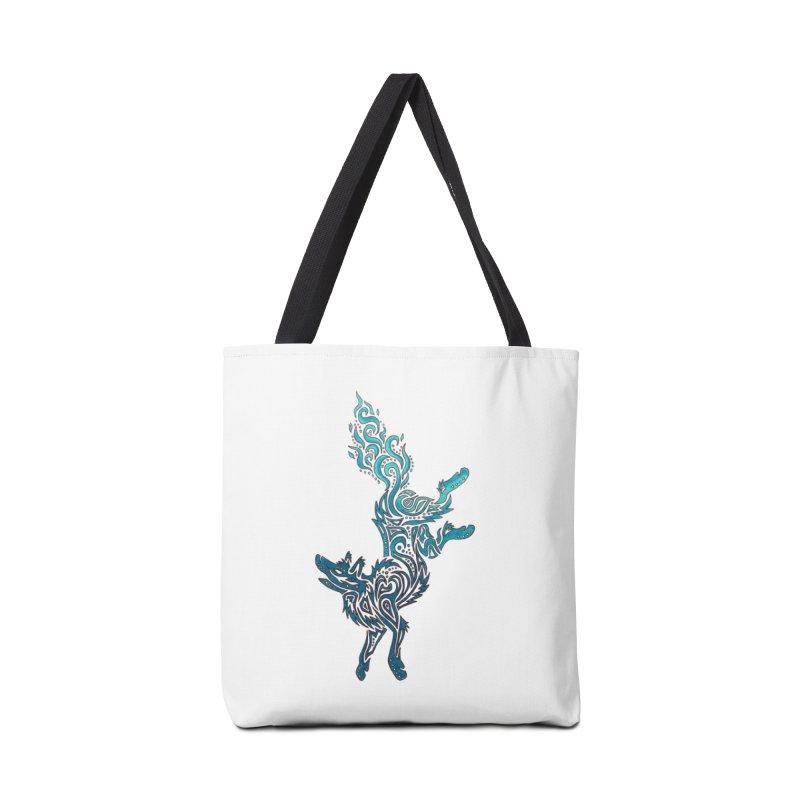 FALLING FIRE Accessories Bag by greenlambart's Artist Shop
