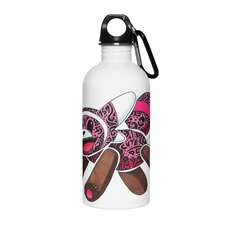 BEAR HUG Accessories Water Bottle by greenlambart's Artist Shop