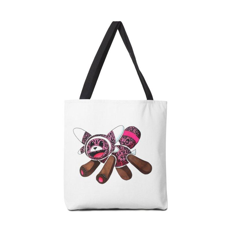 BEAR HUG Accessories Bag by greenlambart's Artist Shop