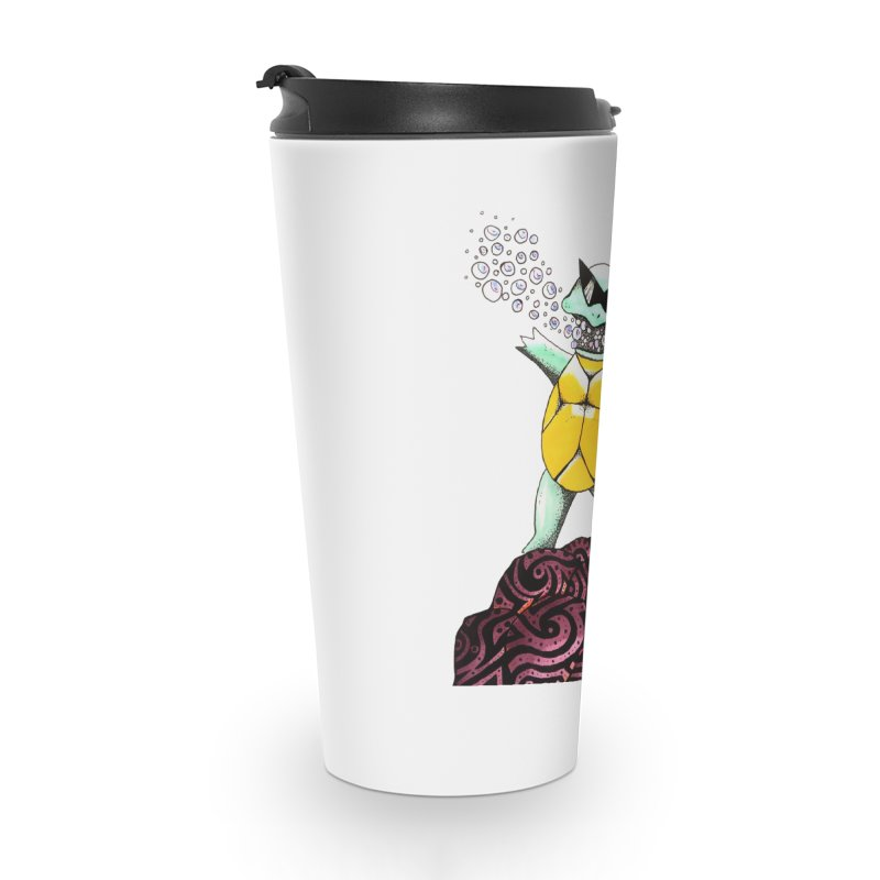 BUBBLES Accessories Travel Mug by greenlambart's Artist Shop