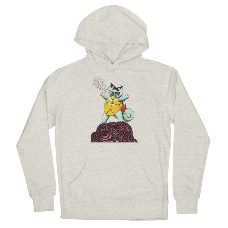 BUBBLES Women's French Terry Pullover Hoody by greenlambart's Artist Shop