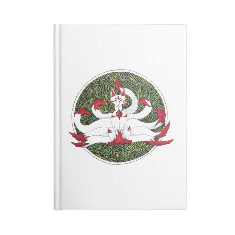 KITSUNE Accessories Notebook by greenlambart's Artist Shop