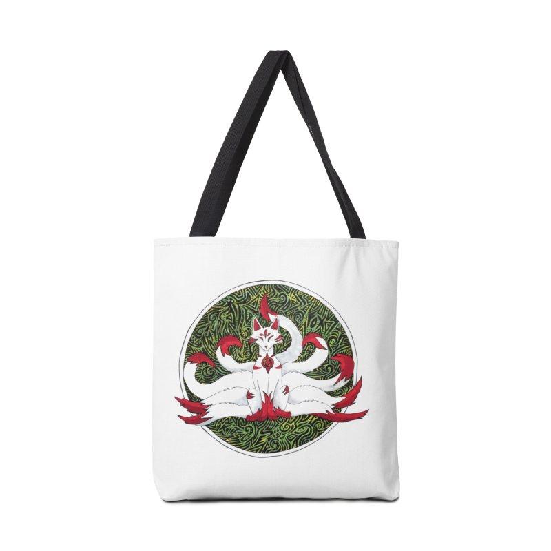 KITSUNE Accessories Bag by greenlambart's Artist Shop