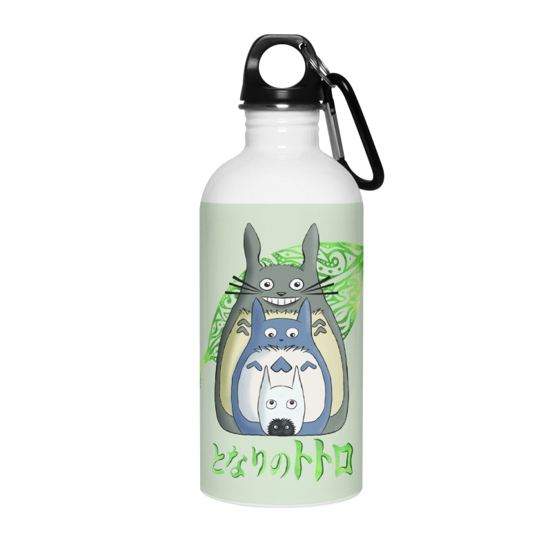 TOTORO Accessories Water Bottle by greenlambart's Artist Shop