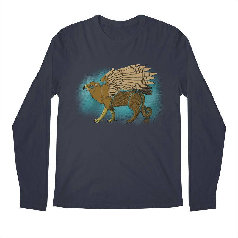 GRIFFON Men's Regular Longsleeve T-Shirt by greenlambart's Artist Shop