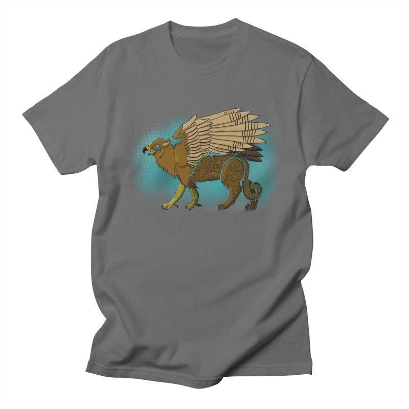 GRIFFON Men's T-Shirt by greenlambart's Artist Shop
