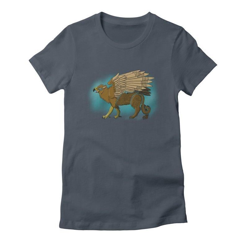 GRIFFON Women's T-Shirt by greenlambart's Artist Shop
