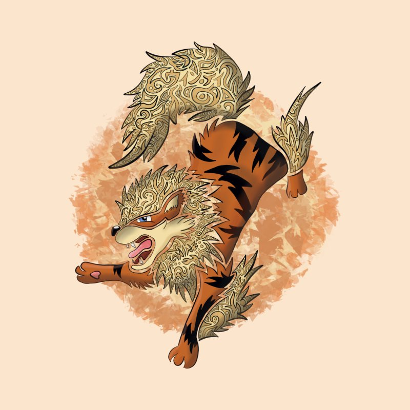 ARCANINE Accessories Notebook by greenlambart's Artist Shop
