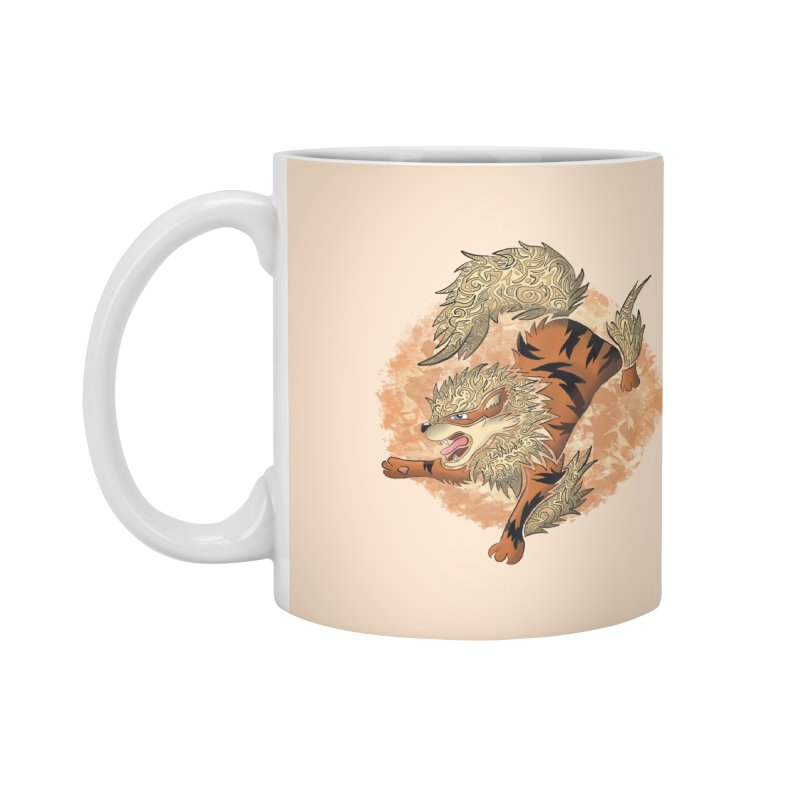 ARCANINE Accessories Mug by greenlambart's Artist Shop