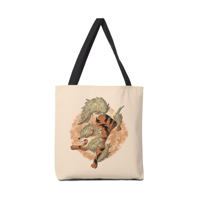 ARCANINE Accessories Bag by greenlambart's Artist Shop