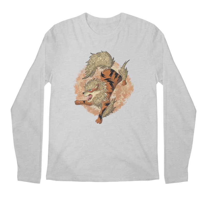 ARCANINE Men's Regular Longsleeve T-Shirt by greenlambart's Artist Shop