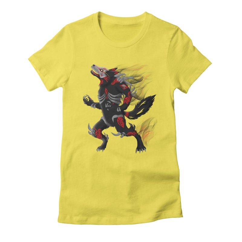 GRIMM Women's T-Shirt by greenlambart's Artist Shop
