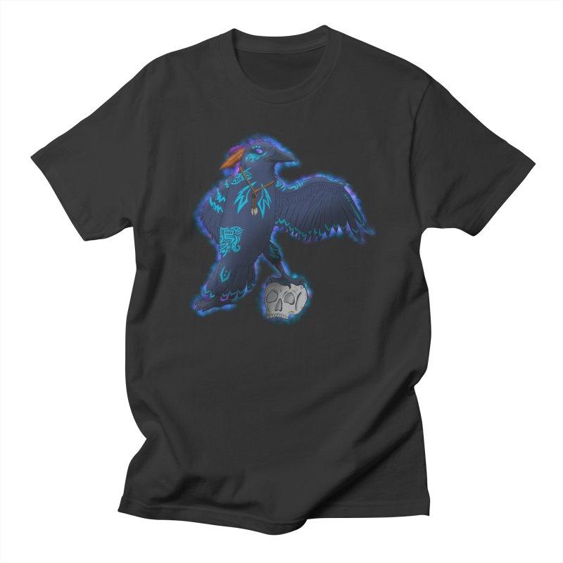 MYSTIC CROW Men's Regular T-Shirt by greenlambart's Artist Shop