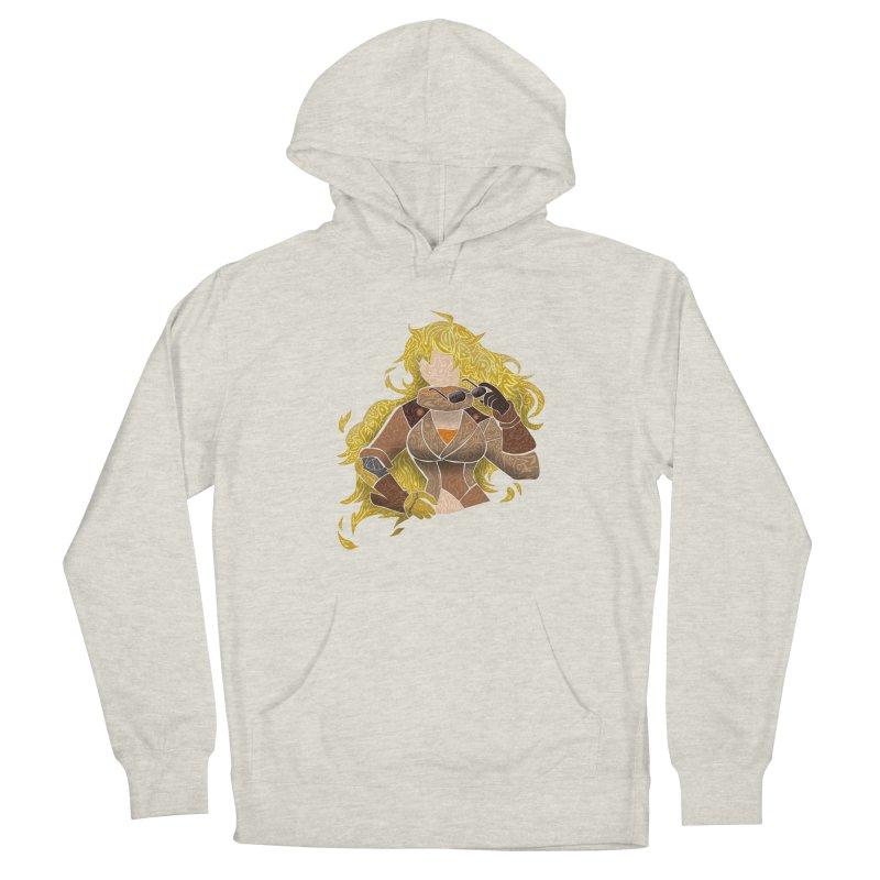 YELLOW Men's Pullover Hoody by greenlambart's Artist Shop