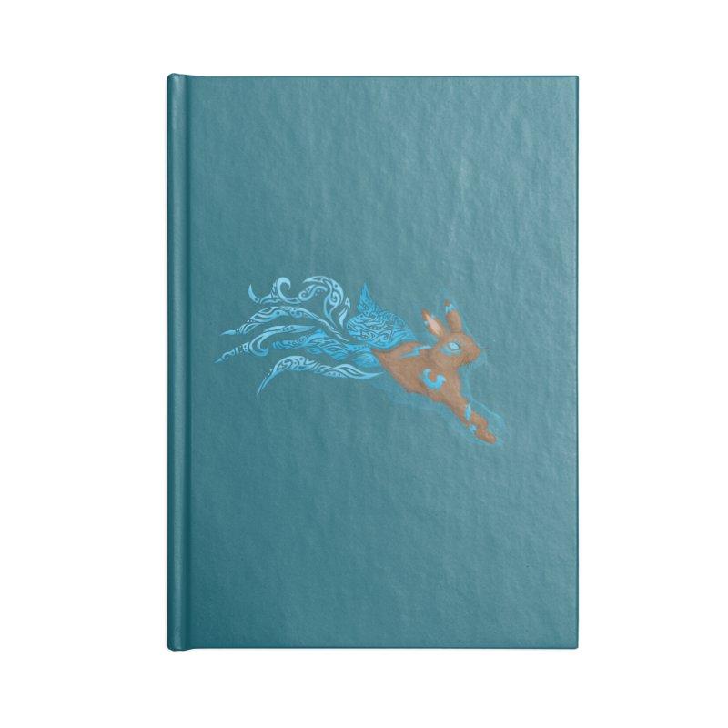 SPIRIT RABBIT Accessories Blank Journal Notebook by greenlambart's Artist Shop