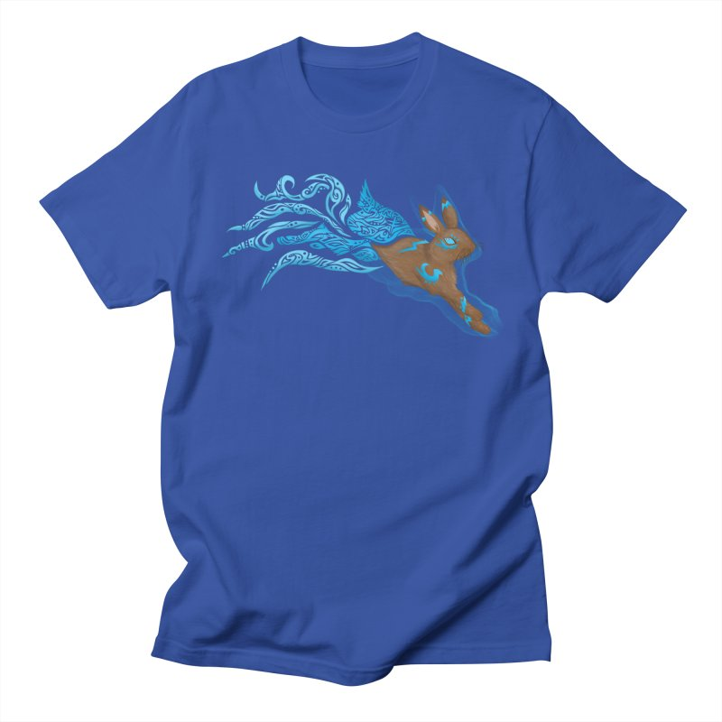 SPIRIT RABBIT Men's T-Shirt by greenlambart's Artist Shop