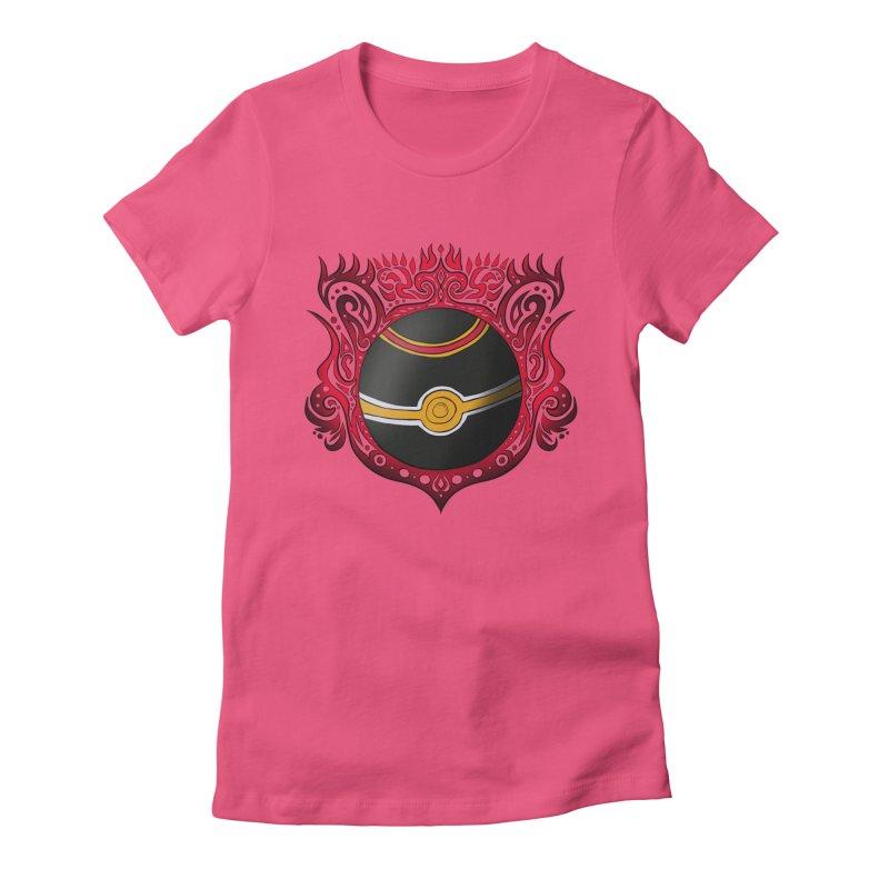 LUXURY Women's Fitted T-Shirt by greenlambart's Artist Shop