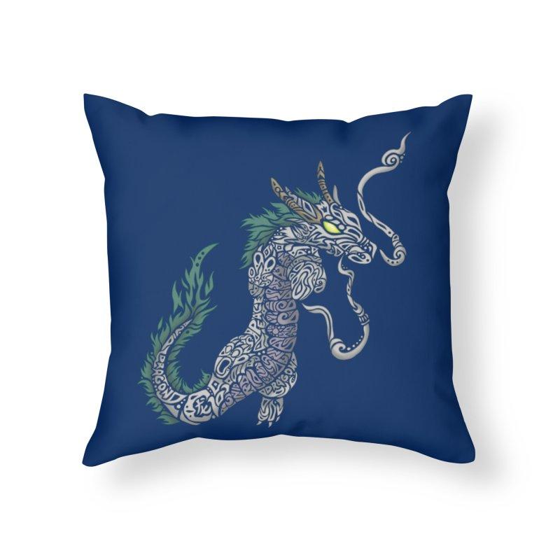 PEACEFUL SPIRIT Home Throw Pillow by greenlambart's Artist Shop