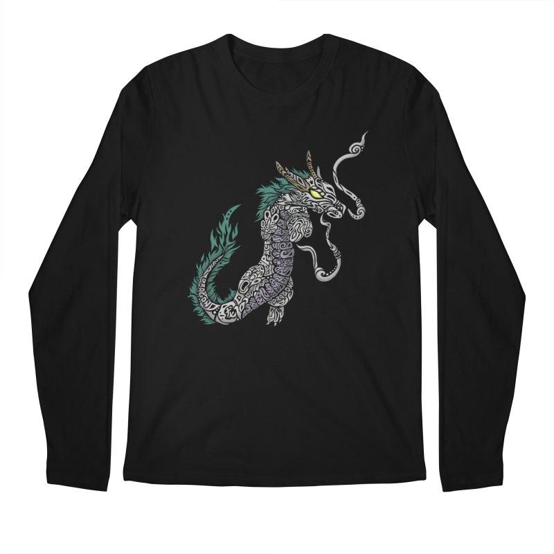PEACEFUL SPIRIT Men's Regular Longsleeve T-Shirt by greenlambart's Artist Shop